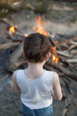Children in the Sacred Fire Community
