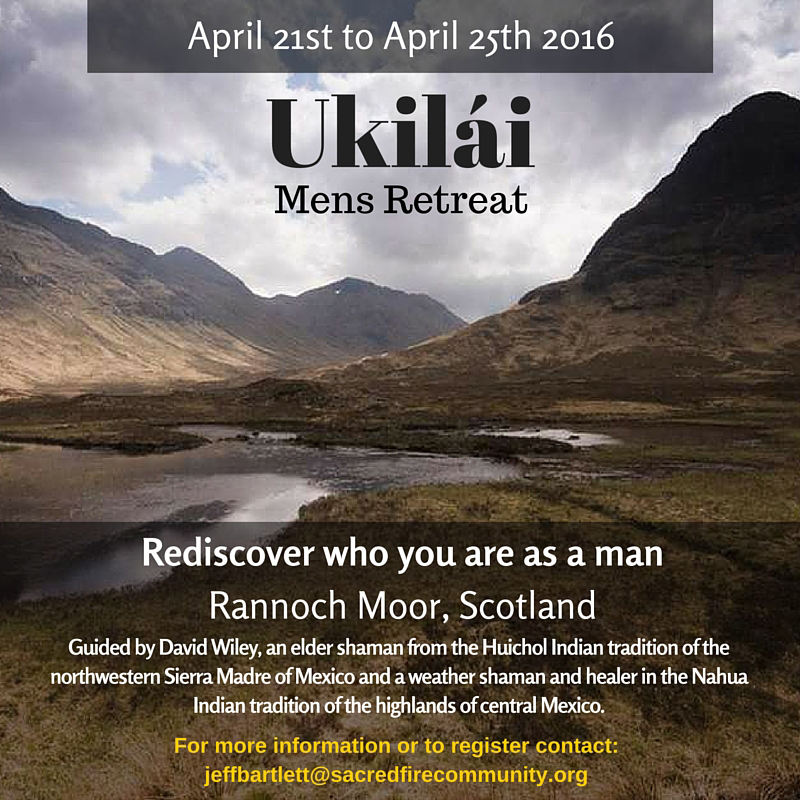 Ukilai Mens Retreat – Rediscover yourself in the rugged Scottish