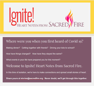 Ignite Issue 1 Masthead